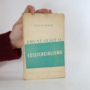 náhled knihy - První sešit o existencialismu