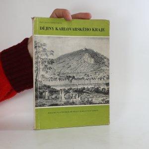 náhled knihy - Dějiny karlovarského kraje (1. díl)