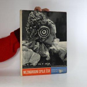 náhled knihy - Mezinárodní spoje ČSR 1938-1939