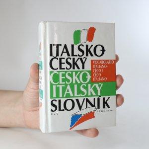 náhled knihy - Italsko-český, česko-italský slovník