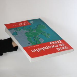 antikvární kniha Úvod do evropského práva, 2004