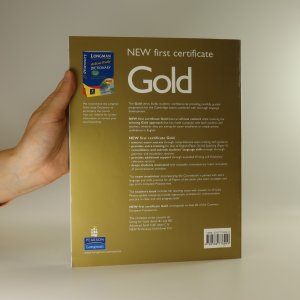 antikvární kniha New first certificate gold. Coursebook, 2004