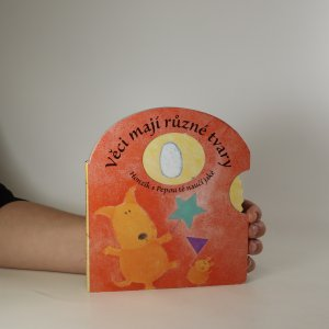 náhled knihy - Věci mají různé tvary. Honzík s Pepou tě naučí jaké (interaktivní kniha)