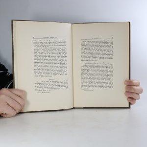 antikvární kniha A memorial, 1932