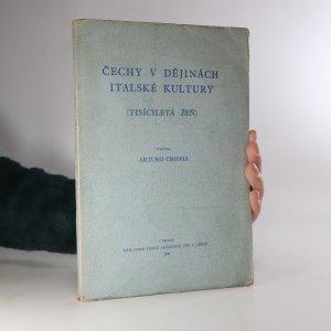 náhled knihy - Čechy v dějinách italské kultury
