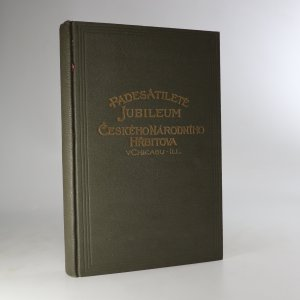 náhled knihy - Padesátileté jubileum českého národního hřbitova v Chicagu, Illinois