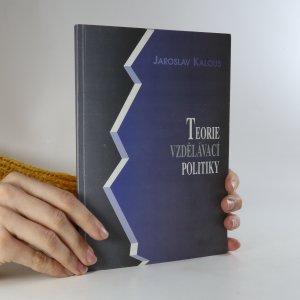 náhled knihy - Teorie vzdělávací politiky