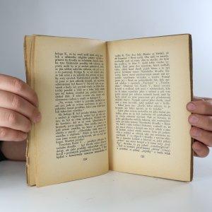 antikvární kniha Vzpomínám ..., 1929