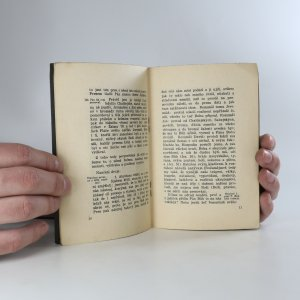 antikvární kniha Pres Boží, 1939