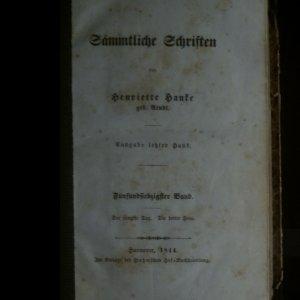 antikvární kniha Sämtliche Schriften. Sebrané spisy, 1844