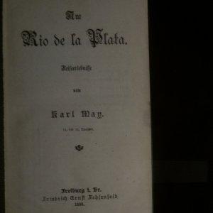 antikvární kniha 6 x Karl May (viz poznámka a foto), neuveden
