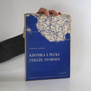 náhled knihy - Kronika I. pluku Stráže Svobody