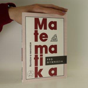 náhled knihy - Matematika pro gymnázia