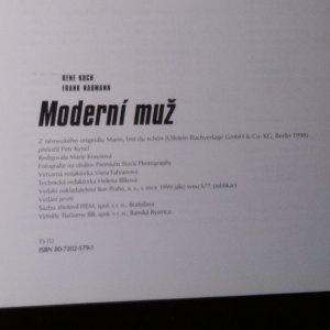 antikvární kniha Moderní muž na prahu třetího milénia, 1999