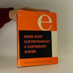 náhled knihy - Rusko-český elektrotechnický a elektronický slovník