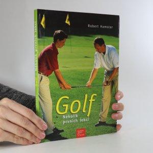 náhled knihy - Golf. Několik prvních lekcí