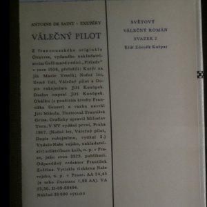 antikvární kniha Válečný pilot, 1967