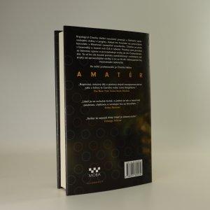 antikvární kniha Amatér, 2016