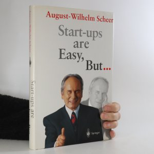 náhled knihy - Start-ups are Easy, But...