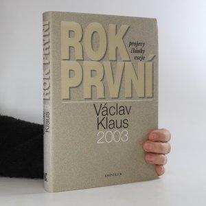 náhled knihy - Václav Klaus. Rok první. 2003