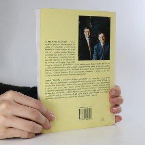 antikvární kniha Reengineering - radikální proměna firmy. Manifest revoluce v podnikání, 1996