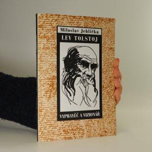 náhled knihy - Lev Tolstoj. Vypravěč a vizionář