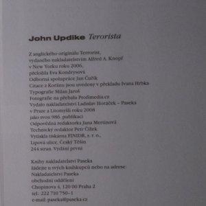 antikvární kniha Terorista, 2008