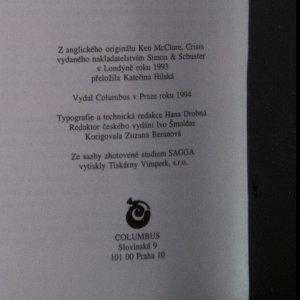 antikvární kniha Krize, 1994