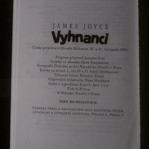 antikvární kniha Vyhnanci, 1994