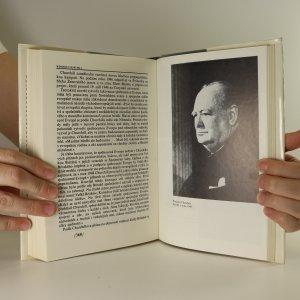 antikvární kniha Winston Churchill, 1986