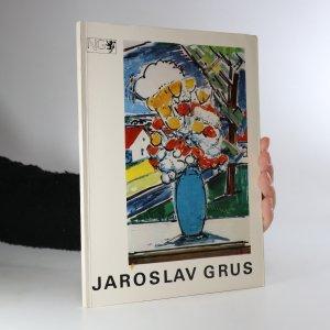 náhled knihy - Jaroslav Grus. Malířské dílo (podpis malíře)