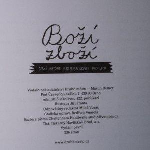 antikvární kniha Boží zboží. Česká historie v 50 fejsbukových profilech, 2015