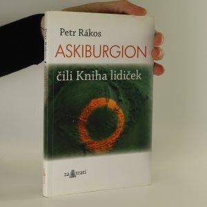 náhled knihy - Askiburgion. Čili kniha lidiček