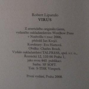 antikvární kniha Virus, 2008