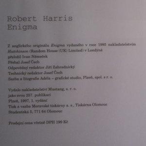 antikvární kniha Enigma, 1997