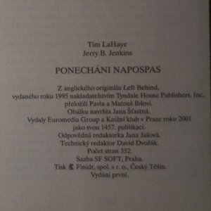 antikvární kniha Ponecháni napospas, 2001