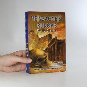 náhled knihy - Nejvzácnější rukopis