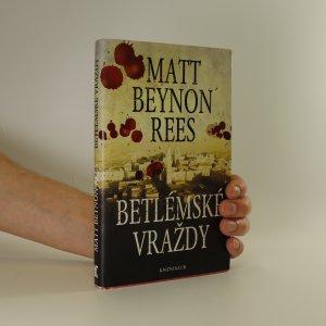 náhled knihy - Betlémské vraždy