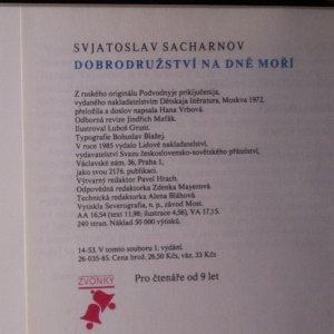 antikvární kniha Dobrodružství na dně moří, 1985