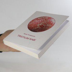 antikvární kniha Tristium Rabí, 2009