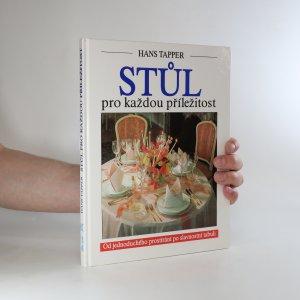 náhled knihy - Stůl pro každou příležitost
