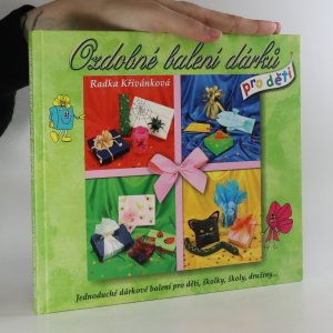 náhled knihy - Ozdobné balení dárků pro děti