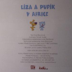 antikvární kniha Líza a Pupík v Africe, 2012