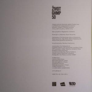 antikvární kniha Život Galerie hlavního města Prahy 50, 2013